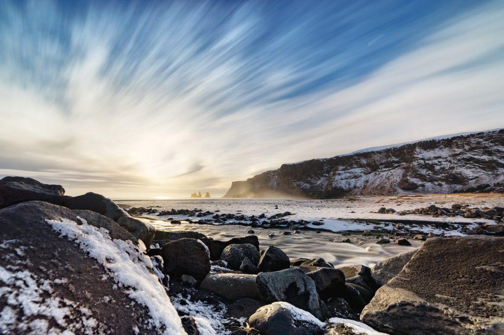 Vík í Mýrdal, Islanda